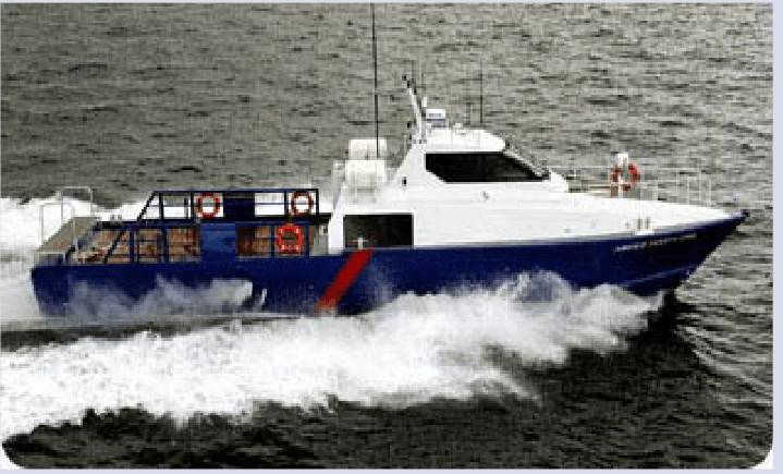 Fast Utility Craft Crewboat For Charter or Sale