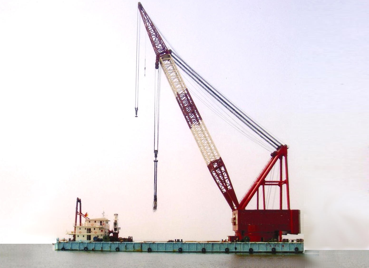 1000ton Self-Propelled Crane Vessel for Sale or Charter