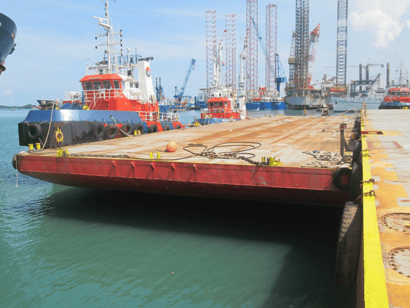 230 ft Flat Top Deck Cargo Barge For Sale or Charter