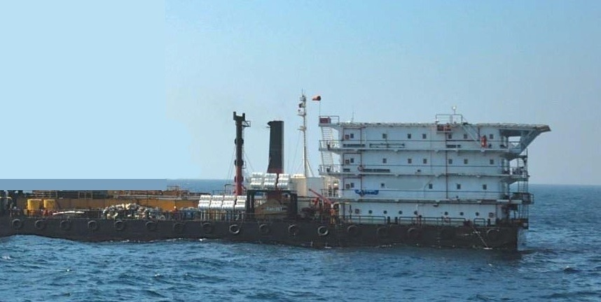 360 Accommodation Work Barge For Charter