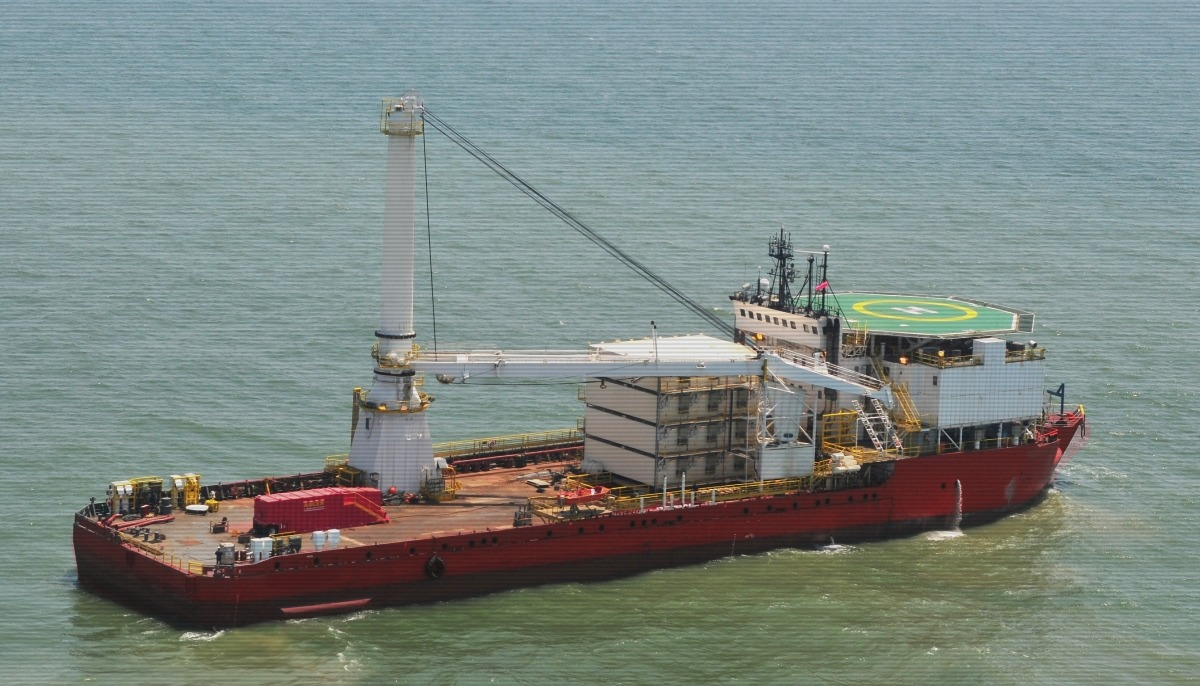DP2 Accommodation Work Barge For Charter - Sale Charter