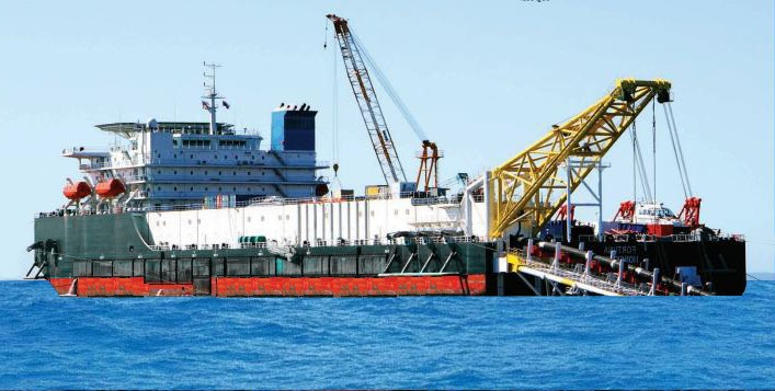 Pipelay Barge For Sale Or Charter