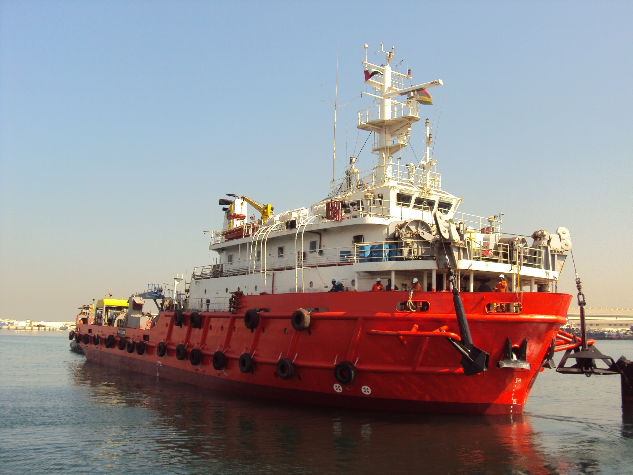 63 M Work Boat Supply Vessel For Charter
