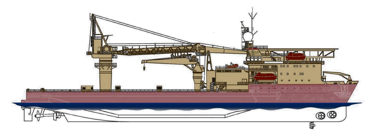 126 m DP-2 Multi-Purpose Construction and Subsea Vessel