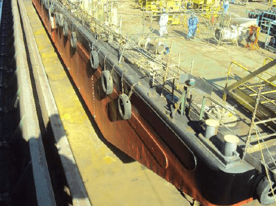 280 ft Flat Top Deck Cargo Barge For Sale or Charter
